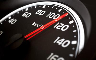 l'excès de vitesse