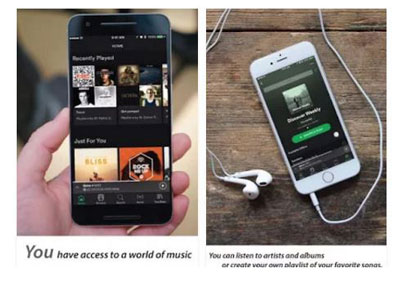 Application Mobiles Spotify – Musique à gogo