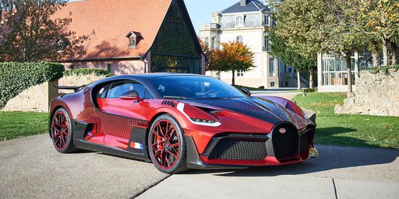 Bugatti Divo - Lady Bug