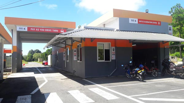 SGS Vehicle Examination Center, Drive Thru