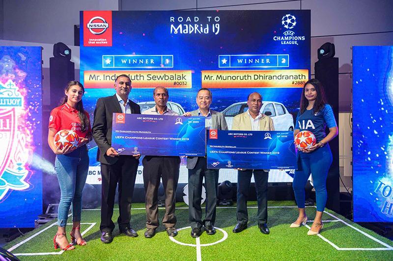Remise de Prix Nissan UEFA Champions League 2019