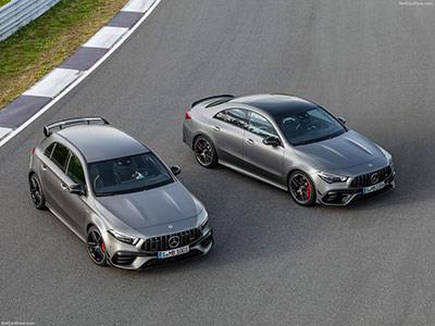 Mercedes Classe A et CLA AMG S : délirantes