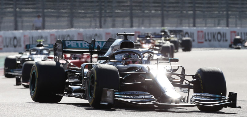 News Sportives - Grand Prix de Russie