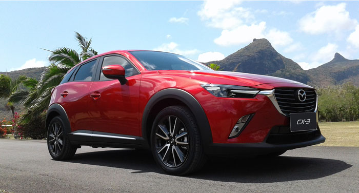 Axess Ltd, Mazda CX3