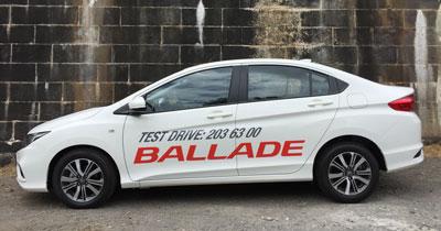 E.A.L MAN HIN & SONS LTD , Honda Ballade