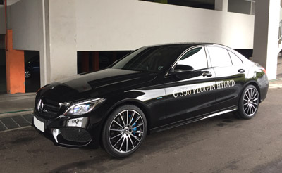 CFAO Motors, Mercedes-Benz C350E