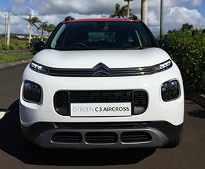 Axess Ltd, Citroen C3 Aircross