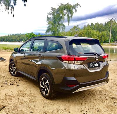 Toyota Mauritius Ltd, Toyota Rush