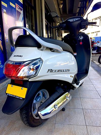 Emcar Ltd, Suzuki Access 125
